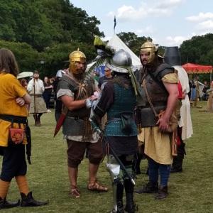 Roman soldiers Upstate Renaissance Faire Greer South Carolina