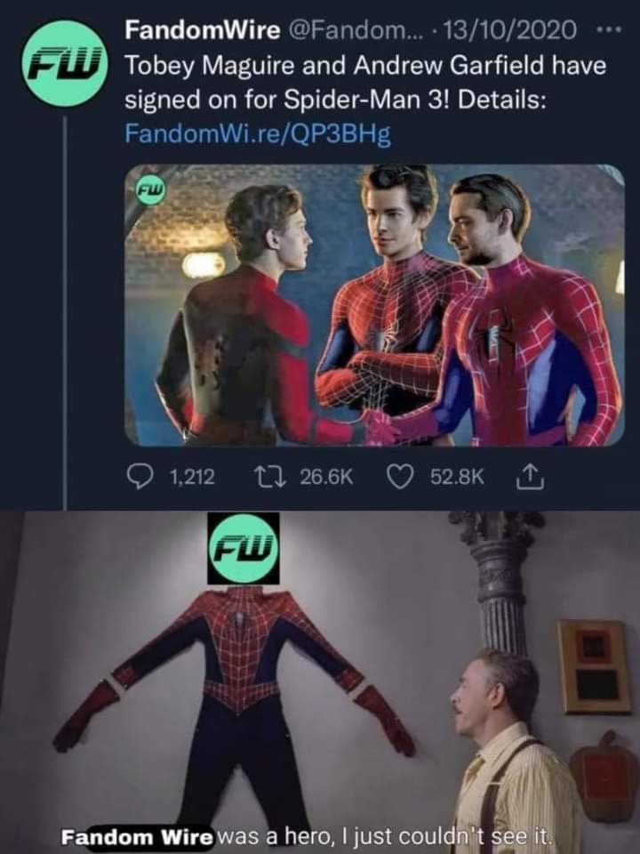 Memes Spider-Man no way home spoilers