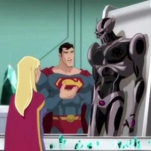 Superman and Supergirl Superman: Unbound movie