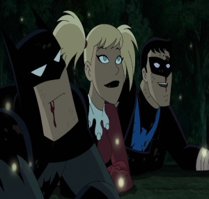Bruce Wayne Batman and Harley Quinn movie