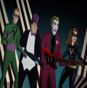 Riddler penguin Joker catwCatwoman Batman: Return of the Caped Crusaders
