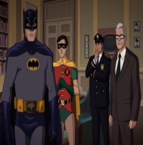 Commissioner Gordon Batman: Return of the Caped Crusaders
