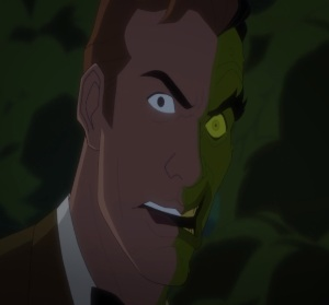 Harvey dent becomes Two-Face Batman vs. Two-Face movie