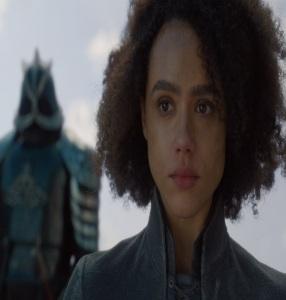 Missandei dies game of Thrones HBO