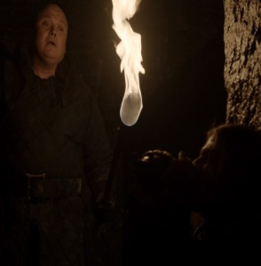 Varys visits eddard Stark in the dungeon Game of Thrones HBO