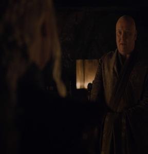 Varys working for Daenerys Targaryen Game of Thrones HBO