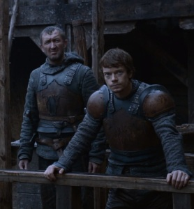 Theon Greyjoy takes Winterfell castle Game of Thrones HBO