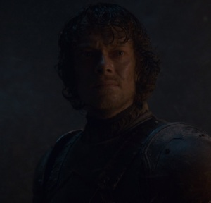 Theon Greyjoy battle for Winterfell against white walkers Game of Thrones HBO