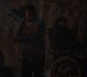 Theon Greyjoy dies against the Night King