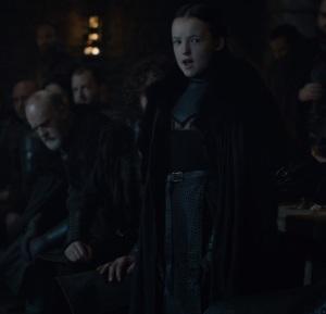 Lyanna Mormont nominates Jon Snow to be king Game of Thrones HBO