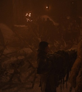 Lyanna Mormont killed by giant wight Game of Thrones HBO