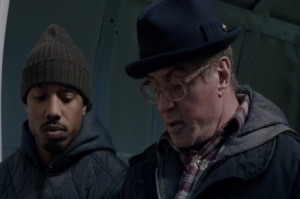 Adonis and Rocky Balboa Creed 2015 movie