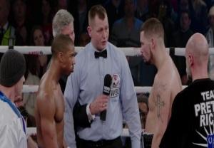 Adonis Creed vs Ricky Conlan Creed 2015 movie