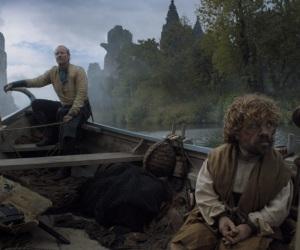 Jorah Mormont kidnaps Tyrion Lannister Game of Thrones HBO