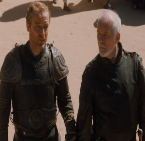 Jorah Mormont and barristan selmy Game of Thrones HBO