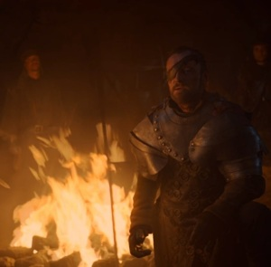 Beric Dondarrion vs the hound game of Thrones HBO