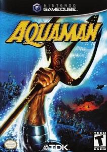 Aquaman: Battle for Atlantis Nintendo Gamecube Xbox PS2 boxart