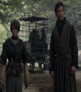 Arya Stark amd gendry Night's Watch recruits game of Thrones HBO