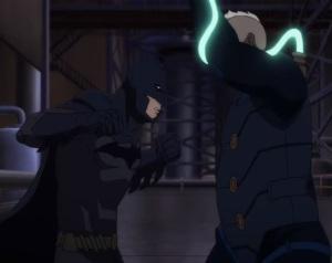 Batman fist punch Batman: Bad Blood movie