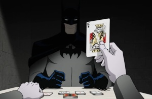 Joker playing cards with batman Batman: The Killing Joke movie