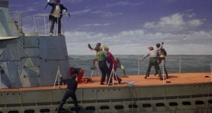 Boat fight Batman 1966 movie