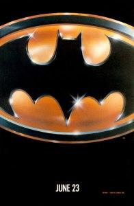 Batman 1989 movie poster