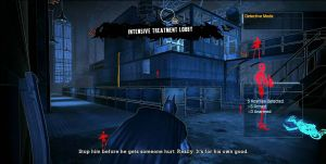 Infared vision Batman: Arkham Asylum Xbox 360 PS3
