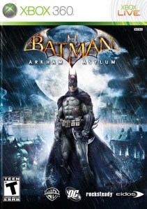 Batman: Arkham Asylum Xbox 360 boxart