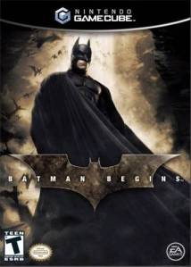 Batman Begins Nintendo Gamecube boxart
