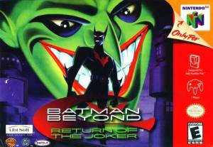 Batman Beyond: Return of the Joker N64 boxart