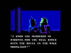 Batman vs Joker Batman NES