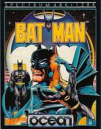 Batman 1986 video game boxart