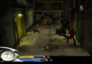Alley fight Batman: Dark Tomorrow