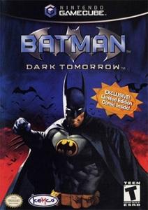 Batman: Dark Tomorrow Nintendo Gamecube boxart