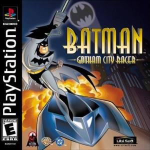 Batman: Gotham City Racer PS1 boxart