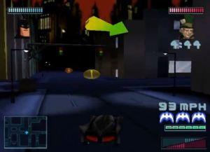 Batman: Gotham City Racer PS1 PlayStation