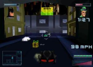 Riddler car Batman: Gotham City Racer PS1