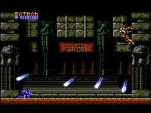 Boss battle Batman NES