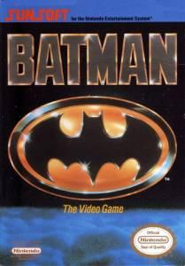 Batman NES Boxart