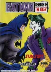 Batman: Return of the Joker sega genesis boxart