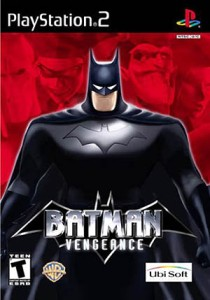 Batman: Vengeance PS2 boxart