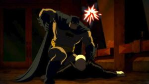Batman vs thugs Batman: The Dark Knight Returns Part 1