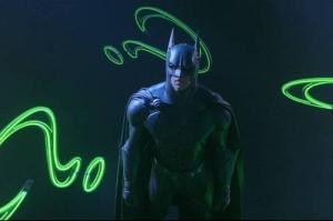 Batman vs Riddler Batman Forever movie