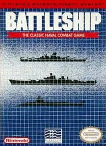 Battleship NES Boxart