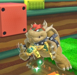 Bowser caught by Beetle super Smash Bros ultimate Nintendo Switch