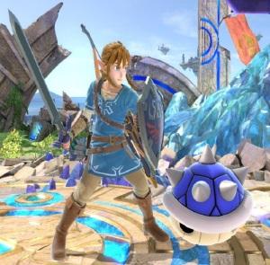 Blue shell super Smash Bros ultimate Nintendo Switch Mario Kart