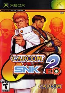 Capcom vs. SNK 2 EO Microsoft Xbox boxart