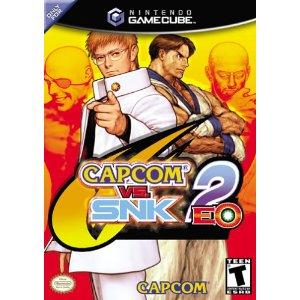 Capcom vs. SNK 2 EO Nintendo Gamecube boxart