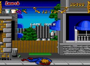 Game over Captain Novolin SNES