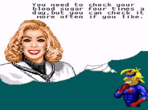 Doctor advice Captain Novolin SNES super Nintendo